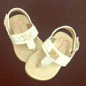 Baby Jessica Simpson toe sandals